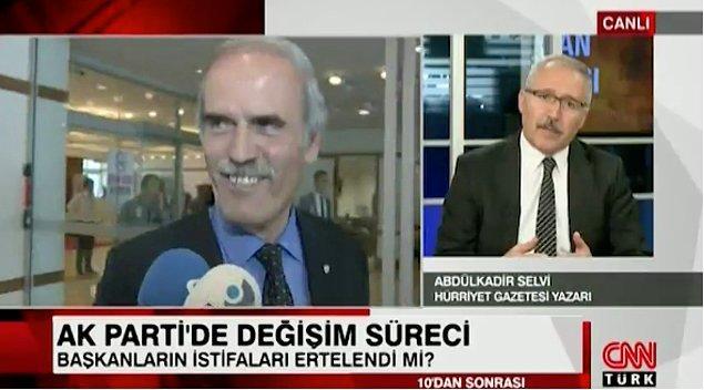 Hürriyet yazarı Abdulkadir Selvi, Bursa Büyükşehir Belediye Başkanı Recep Altepe'nin istifa etmeyeceğini Başbakan Yıldırım'a ilettiğini söylemişti.