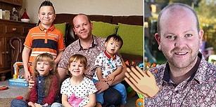 Sevginin Kalıbı Yok! Dört Engelli Çocuğa Kalbini ve Yuvasını Açan Eş Cinsel Baba