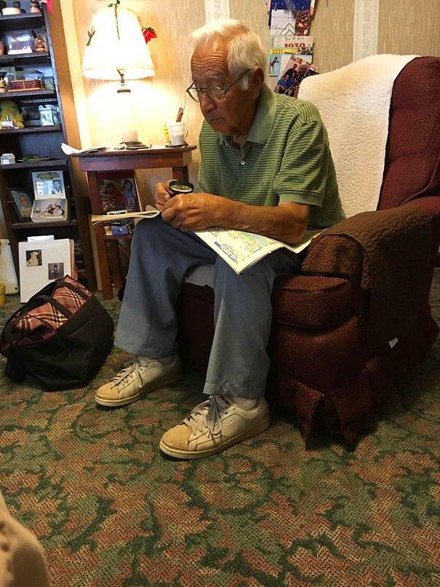 """18. """"62 yıldır evliler, ancak dedem büyükannemin haksız olduğunu kanıtlamak için hala her seferinde harita kitabını çıkarıyor."""""""