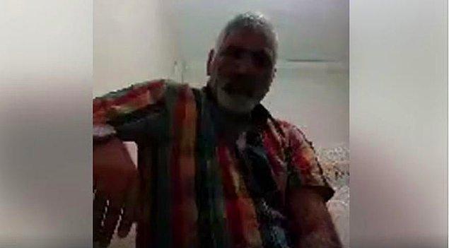 Sosyal medyadan canlı yayın yapan baba, yakınlarına sitem ettikten sonra silahı başına götürdü.