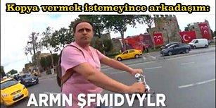 ARMN ŞFMIDVYLR İle Türkçeye Müthiş Bir Katkıda Bulunan Abimizi Diline Dolamış 18 Mizahşör