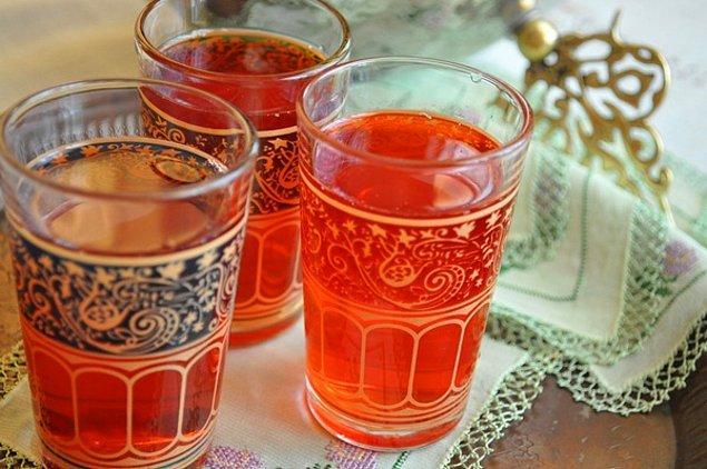 10. Osmanlı kahvesinin yanında Osmanlı şerbeti olur diyenlere,