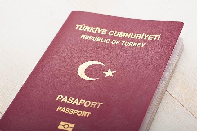 Türkiye Cumhuriyeti pasaportları ise 44. sırada ve toplam 104 ülkeye vize almadan ya da kapıda vize alarak seyahat edebiliyor.
