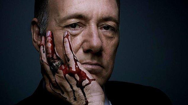 8. 'House of Cards' ve başkanımız bizi her an öldürebilir teması.