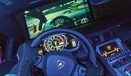 Milyon Dolarlık Lamborghini Aventador'u Oyun Konsolu Olarak Kullanan Adam