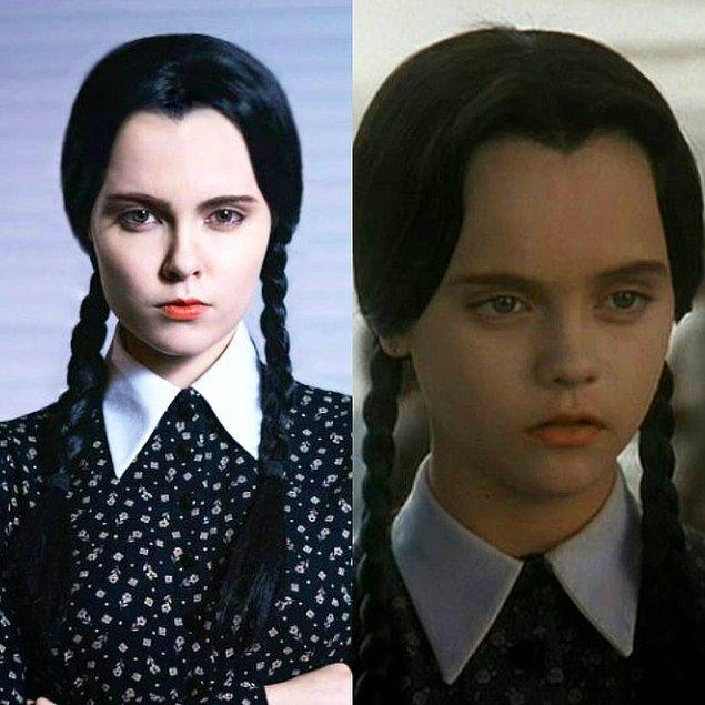 1. Wednesday Addams - Addams Ailesi