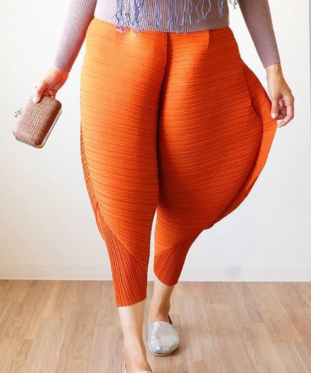 İşte tam o tarz bir icat olan bu pantolonlar, Japon online alışveriş sitesi Rakuten'de satılıyor.