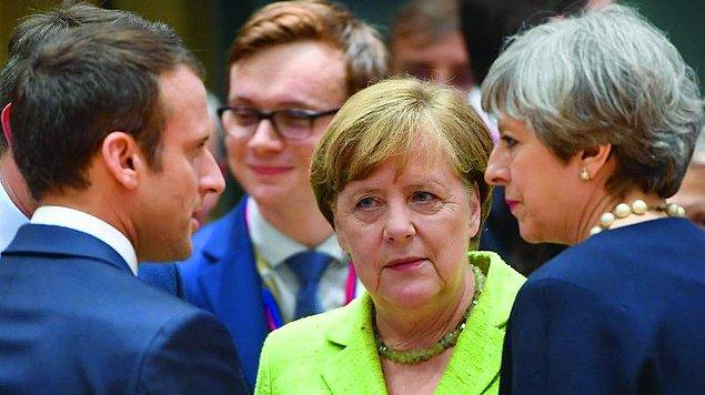 İngiltere, Almanya ve Fransa'dan İspanya'ya destek