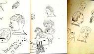 Fatih Sultan Mehmed'in Çocukluğunda Kullandığı Not Defterindeki Çizimleri Görünce Çok Şaşıracaksınız!