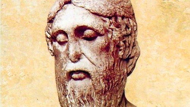 """7. Giritli bir filozof olan Epimenides ölümsüz bir ifadede bulunarak """"Tüm Giritliler yalancıdır."""" demiştir. Öyleyse bu söz doğru mudur, yanlış mıdır?"""