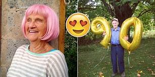 Yaşlanmaktan Korkan Herkesin İçini Isıtacak Doksanlık Dede ve Ninelerden Sıcacık Fotoğraflar