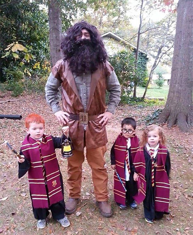 17. Harika Harry Potter kostümleri!