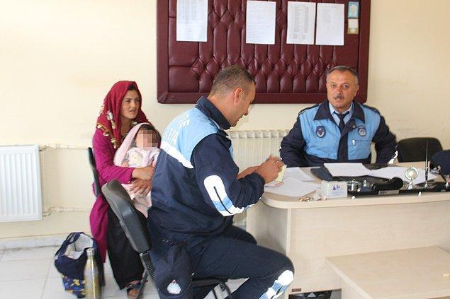 Üzerinden kimlik çıkmayan ve adını söylemeyen kadının kimliğini belirlemek isteyen zabıta, polisten yardım istedi.