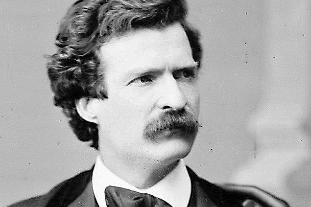 Bunu yapmadan önce de durumu Bay Twain'in yardımıyla kavramsallaştırıyoruz, hepsi bu.
