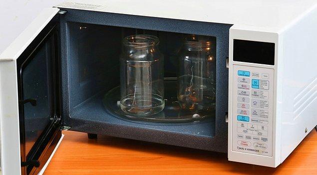 10. Konserve kavanozlarınızı temizleyebilirsiniz.