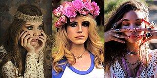 60'lı Yıllardan Çağları Aşan Bir Güzellik Modası: Hippi Makyajı!