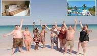 190 Kg'lık Yaz Tatili! Bahamalar'da Sadece Obez Turistlere Hizmet Verecek Lüks Tatil Köyü