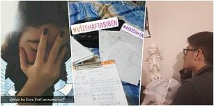 Sınav Zamanı Geldi! Vize Haftasının Nasıl Geçtiğini Tek Bir Fotoğrafla Anlatan 17 Takipçimiz