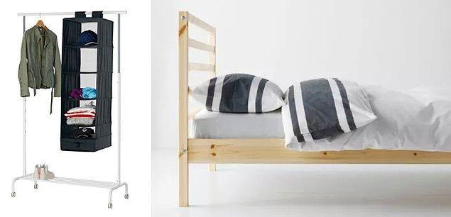 15. Hafif mobilyaları tercih edin.