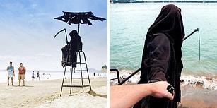 Instagram'ın En Sıradışı Gezgin Fenomenlerinden Plaj Plaj Gezen 'Ölüm Meleği' ile Tanışın!