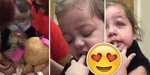 Organ Nakli Sonrası İlk Defa Görebilen Küçük Kızın Duygulandıran Anları