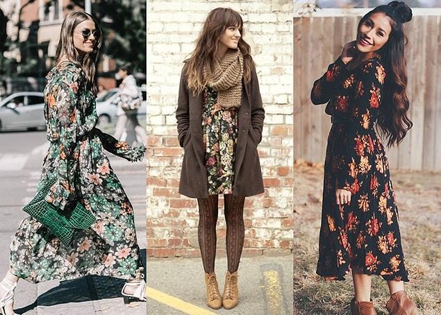 Moda dünyası bir süredir net sınırların yerini daha esnek seçimlere bırakıyor. Bunlardan biri de baharın alametifarikası çiçek desenli kıyafetler!
