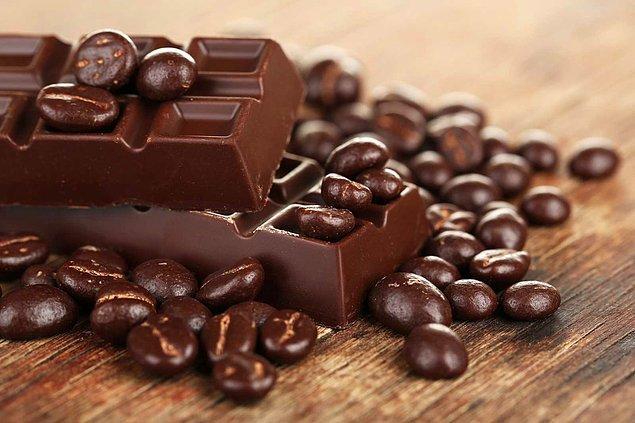 9. Bitter çikolatanın diğer çikolatalardan farkı nedir peki?
