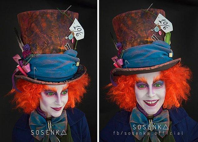 3. Çılgın Şapkacı, Alice Harikalar Diyarında