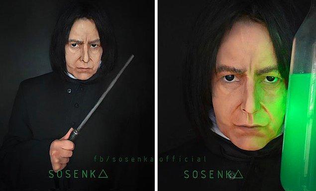 4. Severus Snape, Harry Potter