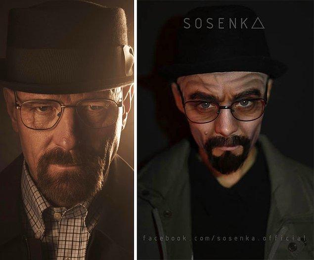 23. Walter White / Heisenberg, Breaking Bad