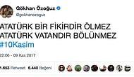 Hep Kalbimizdesin! Aramızdan Ayrılışının 79. Yılında Atatürk'ü Özlemle Anan Ünlülerin Duygulandıran Paylaşımları