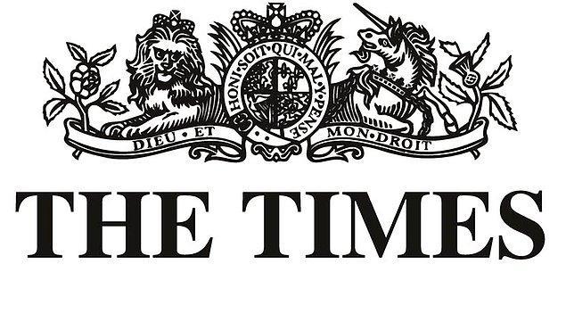 34. Times Gazetesi, İngiltere