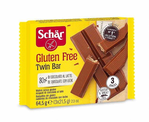 6. Glutensiz çikolata da bulacağınızı da aklınızdan çıkarmayın.
