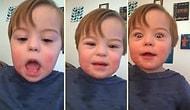 Konuşma Terapisiyle Alfabeyi Öğrenen Down Sendromlu Çocuğun Muhteşem Gayreti