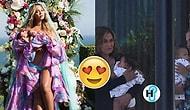 Beyoncé'nin Sır Gibi Sakladığı Dünyalar Tatlısı İkizleri Sir ve Rumi'nin Fotoğrafları İnternete Sızdı!