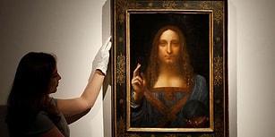 450 Milyon Dolara Satılarak Rekor Kırdı! Da Vinci'nin 'Dünyanın Kurtarıcısı' Adlı Tablosu 18 Dakikada Satıldı