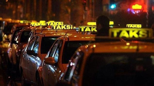 İstanbul'da 1 milyon 725 bin liradan 35 adet taksi plakası satın alabilirsiniz.