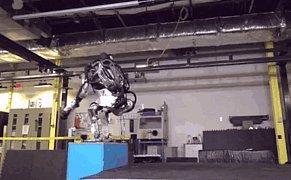 Boston Dynamics'in Robotu Atlas, Ters Takla Atabiliyor!