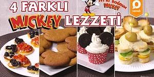 İyi ki Doğdun Mickey! Mickey'nin Doğum Gününü Kutlamak için Hazırlayabileceğiniz 4 Farklı Lezzet