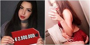 Var mı Artıran? Bekaretini Açık Artırmaya Çıkaran 19 Yaşındaki Model, Arap İş Adamından 2,5 Milyon Euro Teklif Aldı!