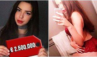 Var mı Artıran? Bekaretini Açık Artırmaya Çıkaran 19 Yaşındaki Model, Arap İş Adamının 2,5 Milyon Euroluk Teklifini Kabul Etti!