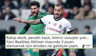 Kartal Puan Kaybetti! Beşiktaş - Akhisarspor Maçının Ardından Yaşananlar ve Tepkiler