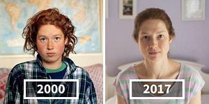 Zamanda Yolculuk! Arkadaşlarının 17 Senelik Değişimin Yalnızca İki Portreyle Anlatan Fotoğrafçı