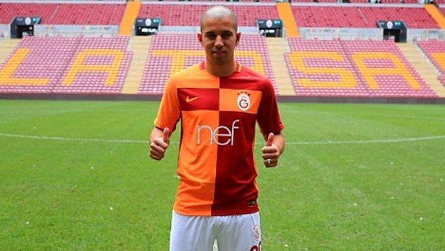 9. Feghouli: (West Ham➡ Galatasaray)