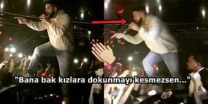 Drake, Kalabalığın İçinde Kadınları Taciz Eden Adama Haddini Bildirmek İçin Konseri Durdurdu!