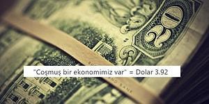 3.92 TL Oldu! Doların Önlenemez Yükselişi Karşısında Tepkisini Dile Getiren 15 Kişi