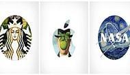 Klasik Eserlerle Ünlü Markaların Logolarını Bir Araya Getiren Proje: Logo+Art