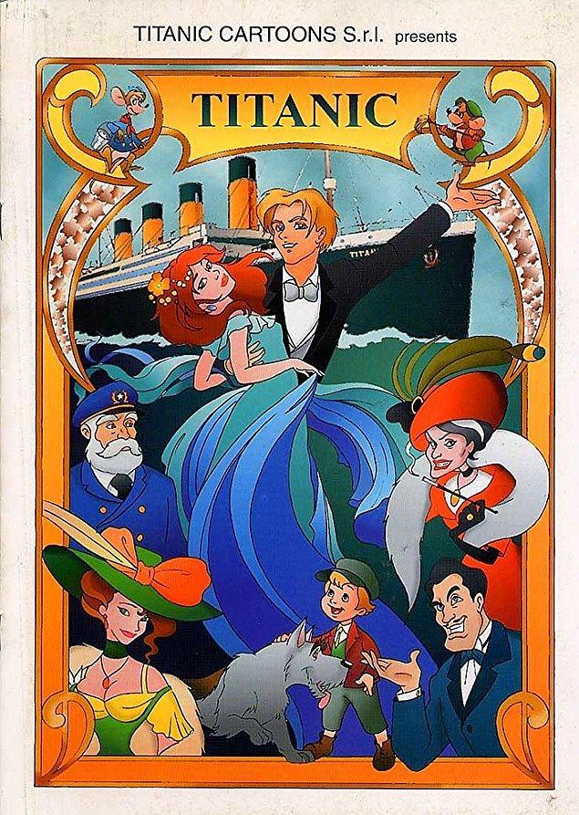 11. Titanic - La leggenda continua (2000) / IMDb Puanı: 1.8
