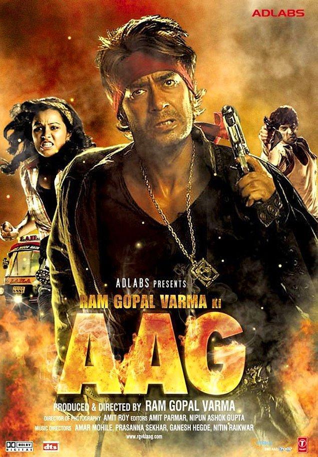 15. Ram Gopal Varma Ki Aag (2007) / IMDb Puanı: 1.9