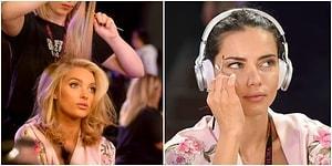 Victoria's Secret'ın Defilesinin Perde Arkasında Neler Olduğunu Göreceğiniz 21 Kulis Fotoğrafı